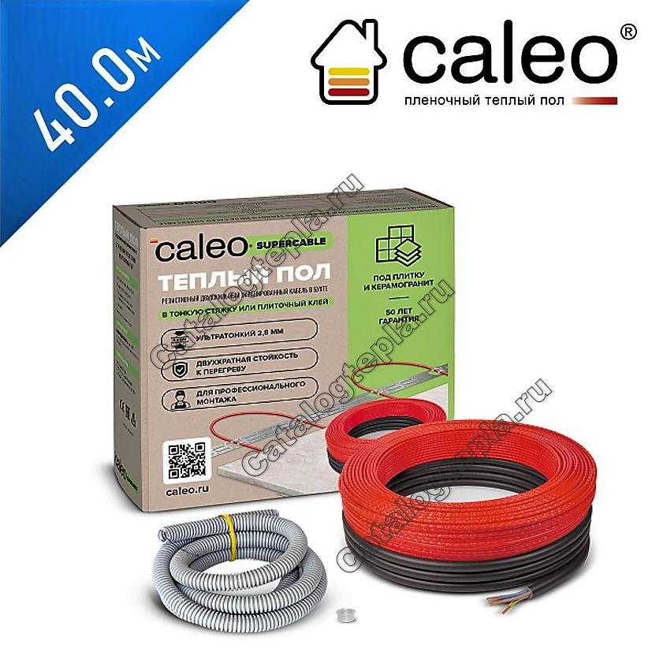 Нагревательный кабель Caleo Supercable 18W  - 40,0 м.