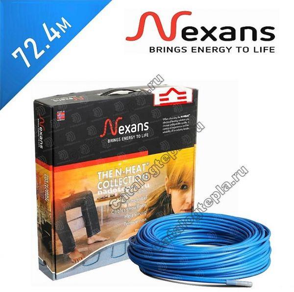Нагревательный кабель Nexans TXLP/2R  - 72,4 м.