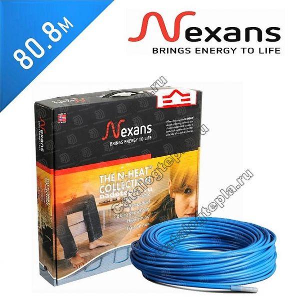 Нагревательный кабель Nexans TXLP/2R  - 80,8 м.