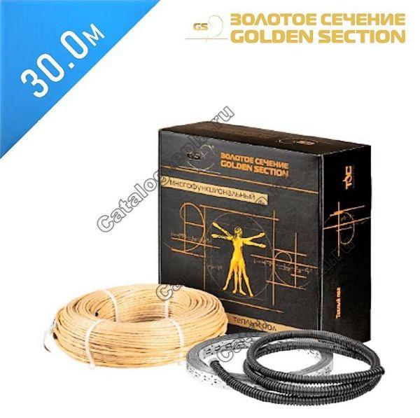 Нагревательный кабель Золотое сечение GS-480  - 30,0 м.