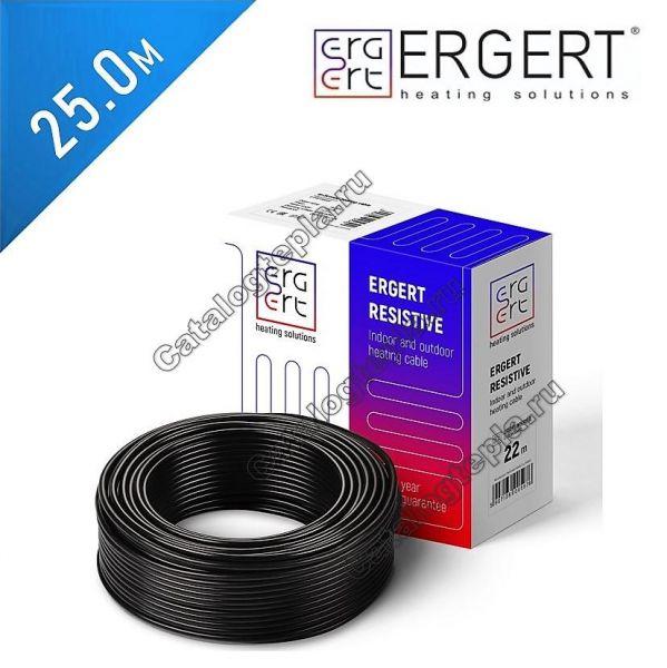 Нагревательный кабель Ergert ETRG 30  - 25,0 м.
