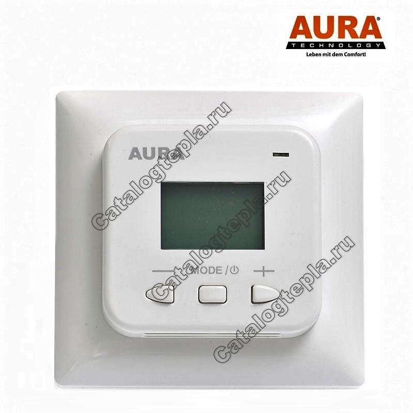 Терморегулятор AURA LTC 530 white