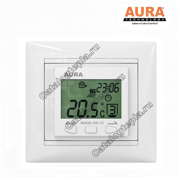 Терморегулятор AURA LTC 090 white