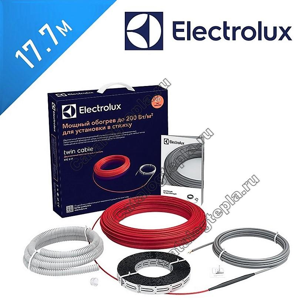 Нагревательный кабель Electrolux Twin Cable - 17,7 м.