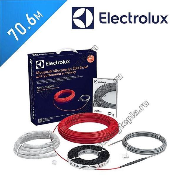 Нагревательный кабель Electrolux Twin Cable - 70.6 м.