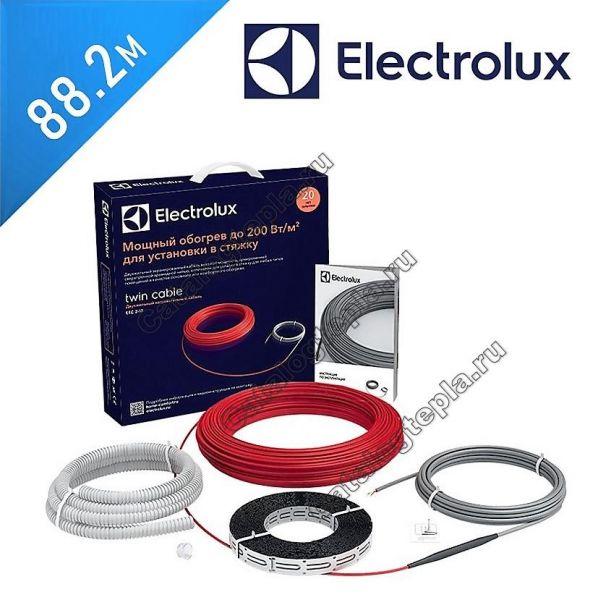 Нагревательный кабель Electrolux Twin Cable - 88.2 м.