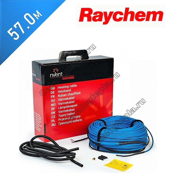 Нагревательный кабель Raychem T2Blue - 57.0 м.