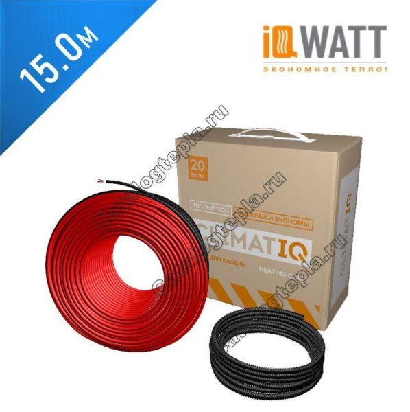 Нагревательный кабель CLIMATIQ CABLE - 15.0 м.