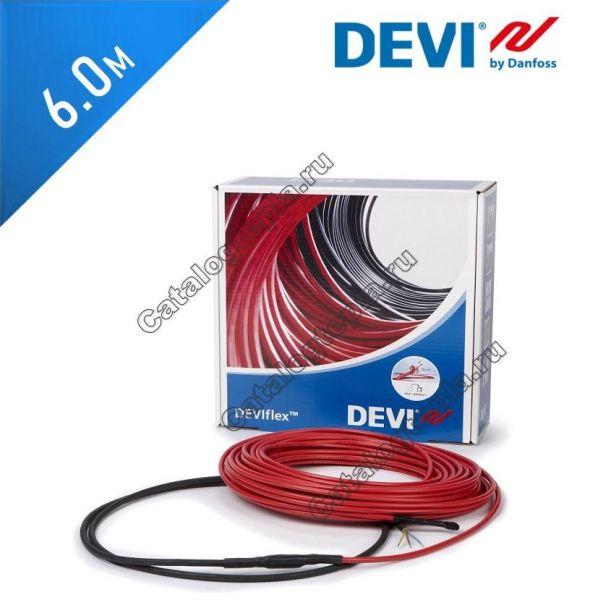 Нагревательный кабель Deviflex 10 T (DTIP-10) - 6,0 м.
