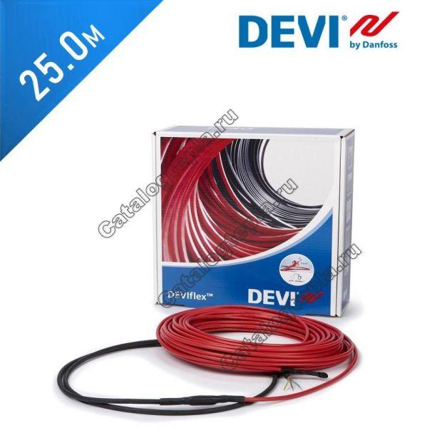 Нагревательный кабель Deviflex 10 T (DTIP-10) - 25,0 м.