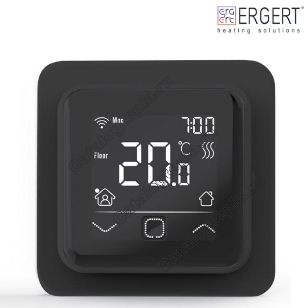 Терморегулятор Ergert FLOOR CONTROL 360 black WIFI
