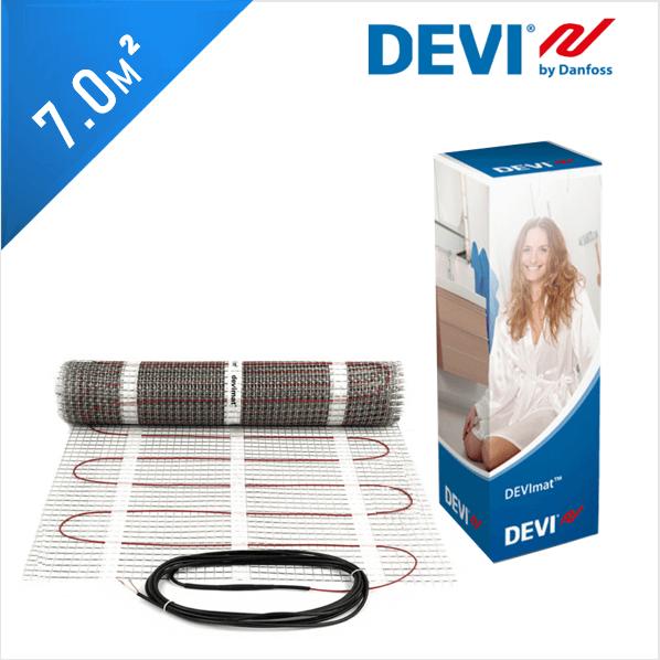 Нагревательный мат DEVImat 150T (DTIF-150) - 7,0 кв.м.