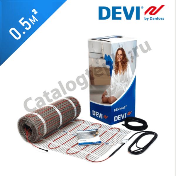 Нагревательный мат DEVImat 200T (DTIF-200) - 0,5 кв.м.