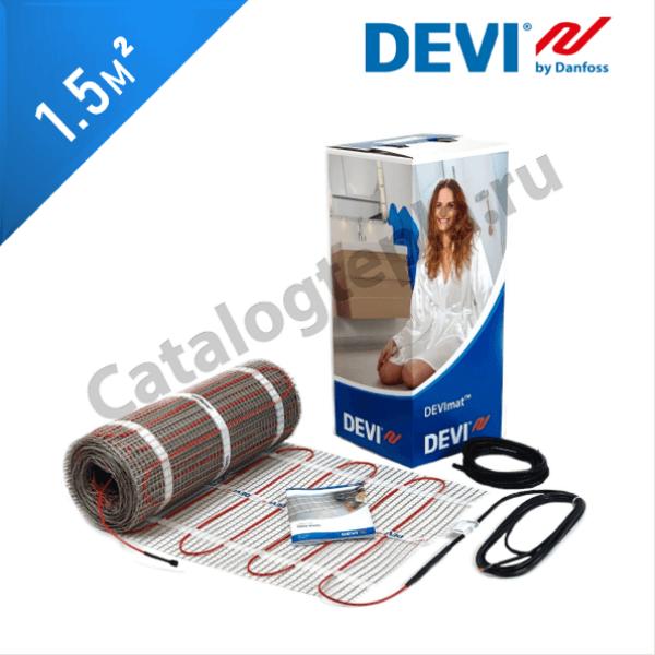 Нагревательный мат DEVImat 200T (DTIF-200) - 1,5 кв.м.