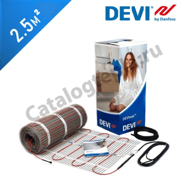 Нагревательный мат DEVImat 200T (DTIF-200) - 2,5 кв.м.