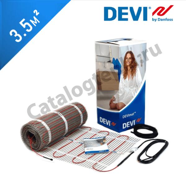 Нагревательный мат DEVImat 200T (DTIF-200) - 3,5 кв.м.