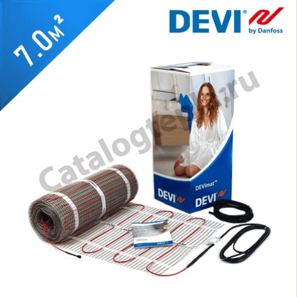 Нагревательный мат DEVImat 200T (DTIF-200) - 7,0 кв.м.