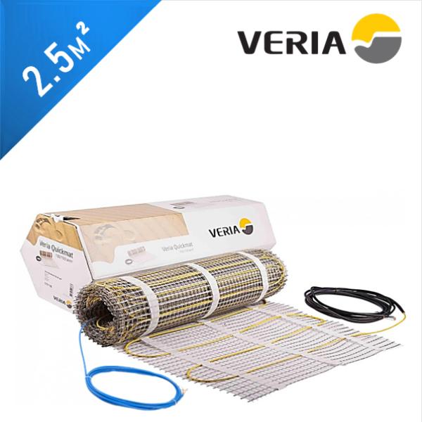 Нагревательный мат VERIA Quickmat 150 1C - 2,5 кв.м.