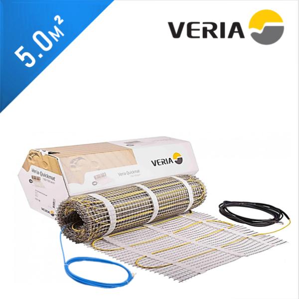 Нагревательный мат VERIA Quickmat 150 1C - 5,0 кв.м.