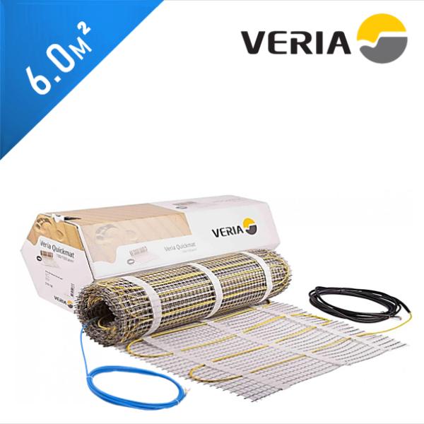 Нагревательный мат VERIA Quickmat 150 1C - 6,0 кв.м.
