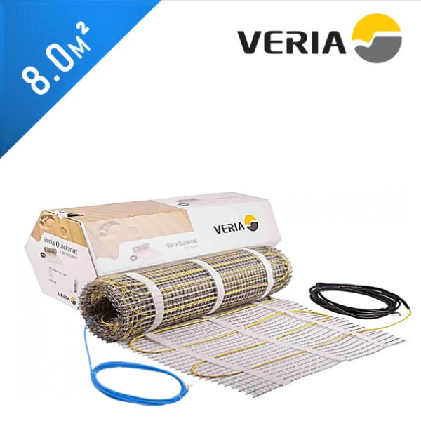 Нагревательный мат VERIA Quickmat 150 1C - 8,0 кв.м.