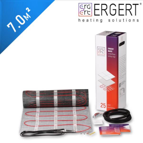 Нагревательный мат ERGERT Basic 200 (ETMB 200) - 7,0 кв.м.