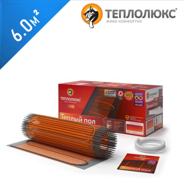 Нагревательный мат ТЕПЛОЛЮКС Profimat 180  - 6,0 кв.м.