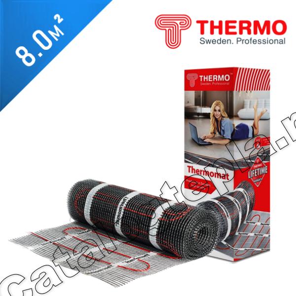 Нагревательный мат Thermomat TVK 130  - 8,0 кв.м.