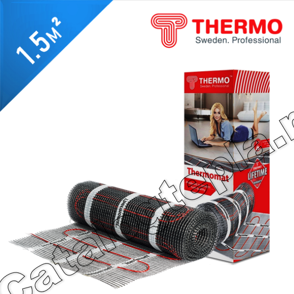 Нагревательный мат Thermomat TVK 180  - 1,5 кв.м.
