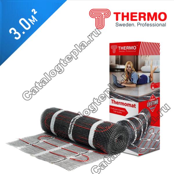 Нагревательный мат Thermomat TVK 180  - 3,0 кв.м.