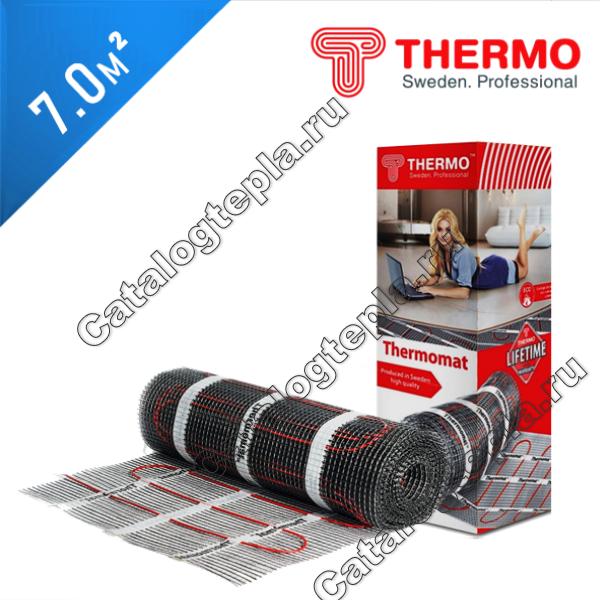 Нагревательный мат Thermomat TVK 180  - 7,0 кв.м.
