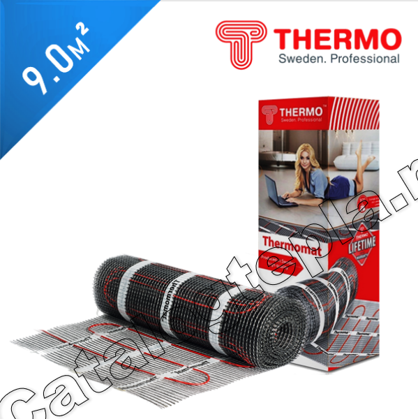 Нагревательный мат Thermomat TVK 180  - 9,0 кв.м.