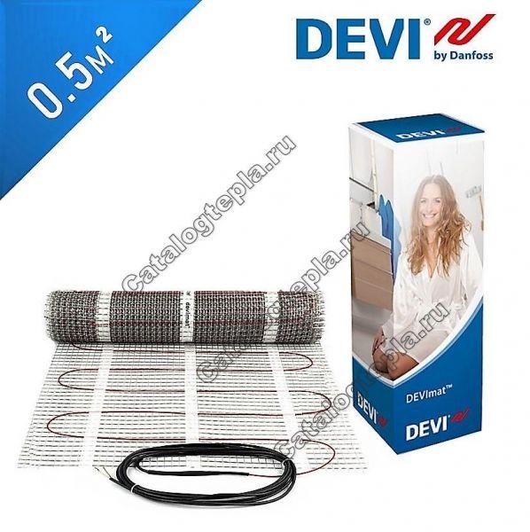 Нагревательный мат DEVIcomfort 150T (DTIR-150) - 0,5 кв.м.