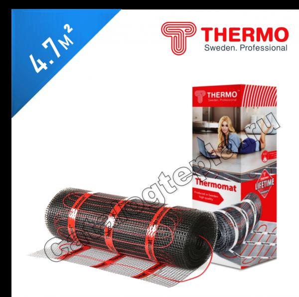 Нагревательный мат Thermomat TVK 210  - 4,7 кв.м.