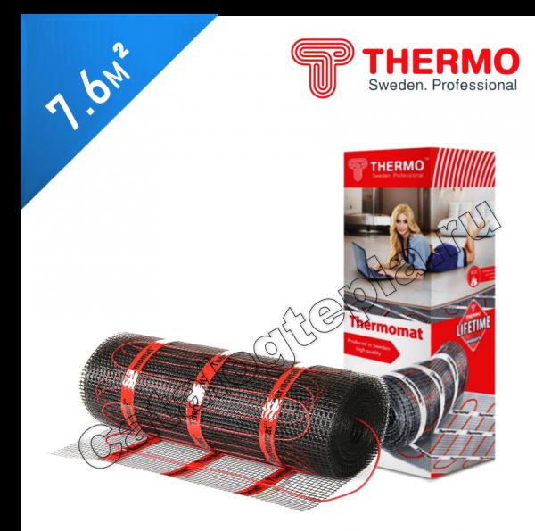 Нагревательный мат Thermomat TVK 210  - 7,6 кв.м.