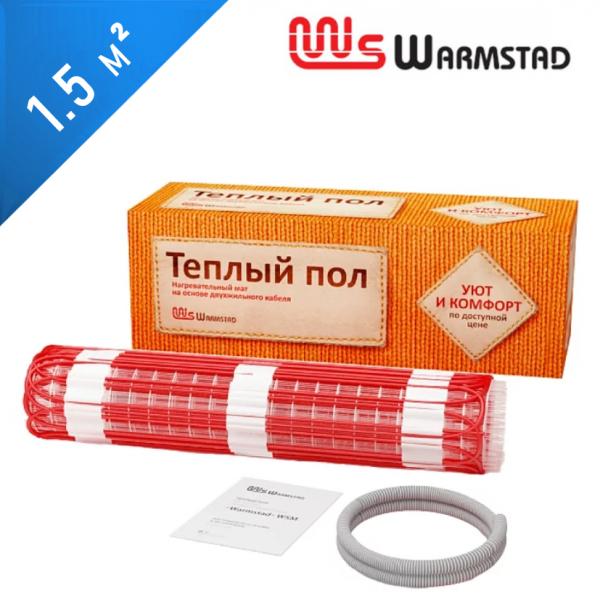 Нагревательный мат Warmstad WSM-150  - 1,5 кв.м.