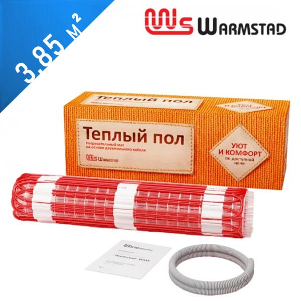Нагревательный мат Warmstad WSM-150  - 3,85 кв.м.