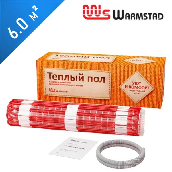 Нагревательный мат Warmstad WSM-150  - 6,0 кв.м.
