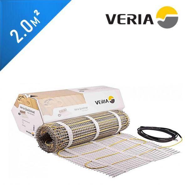 Нагревательный мат VERIA Quickmat 150 2C - 2,0 кв.м.