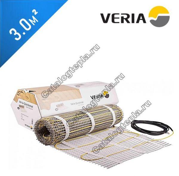 Нагревательный мат VERIA Quickmat 150 2C - 3,0 кв.м.