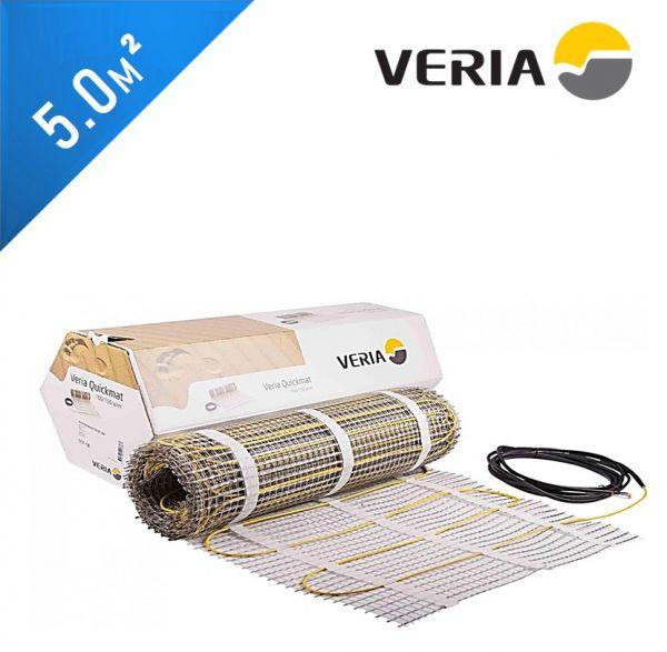 Нагревательный мат VERIA Quickmat 150 2C - 5,0 кв.м.