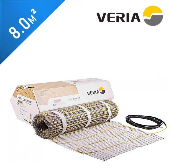 Нагревательный мат VERIA Quickmat 150 2C - 8,0 кв.м.