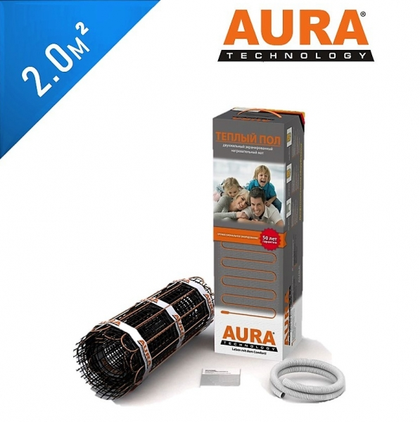 Нагревательный мат AURA МТА 150 - 2,0 кв.м.