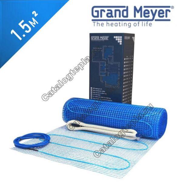 Нагревательный мат Grand Meyer THM180-007 - 1,5 кв.м.