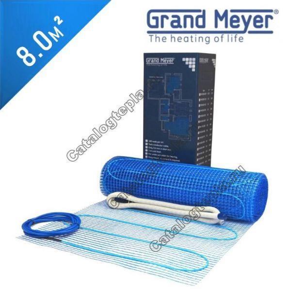 Нагревательный мат Grand Meyer THM180-080 - 8,0 кв.м.