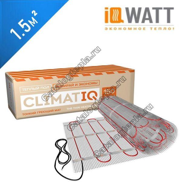 Нагревательный мат IQWATT CLIMATIQ MAT - 1,5 кв.м.