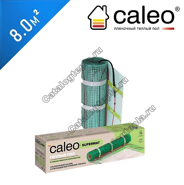 Нагревательный мат Caleo Supermat 130 - 8,0 кв.м.