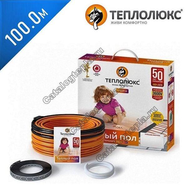Нагревательный кабель Теплолюкс Tropix ТЛБЭ - 100,0 м.